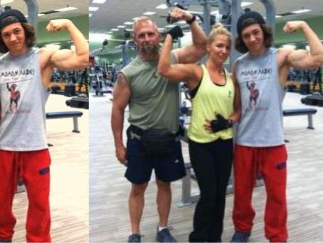 Leo Howard Muscles 2013 Leo howard biceps powerpoint