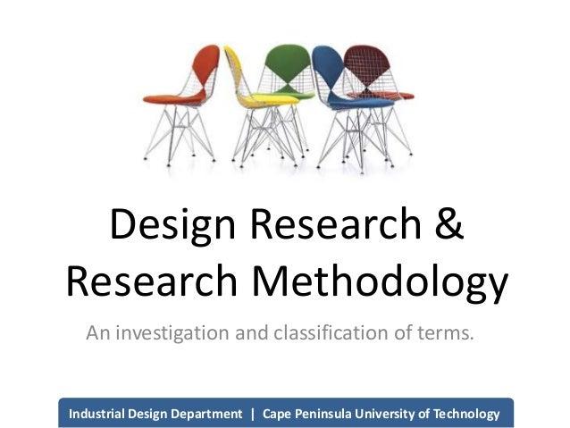 Research Methodology for Design
