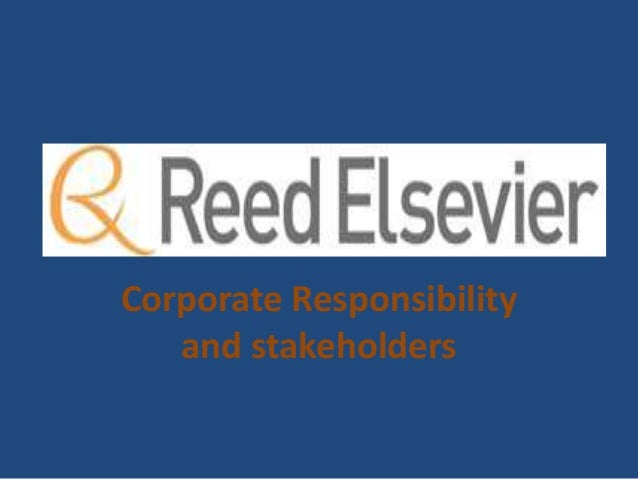 Corporate Responsibility and stakeholders