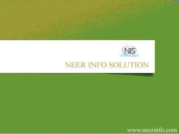 RECRUITMENT SERVICES OF NEER INFO SOLUTIONS