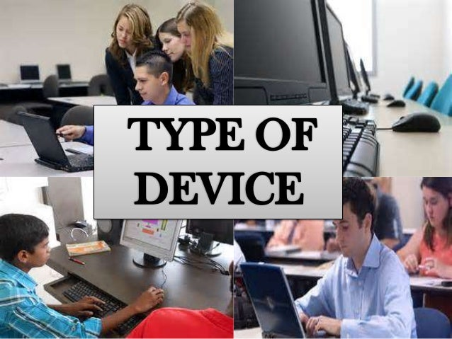 powerpoint about type of devices