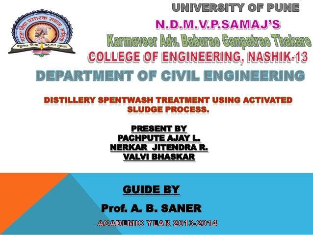 GUIDE BY Prof. A. B. SANER PRESENT BY PACHPUTE AJAY L. NERKAR JITENDRA R. VALVI BHASKAR