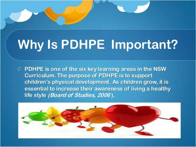 Help in an essay for PDHPE (health, phys. ed)?