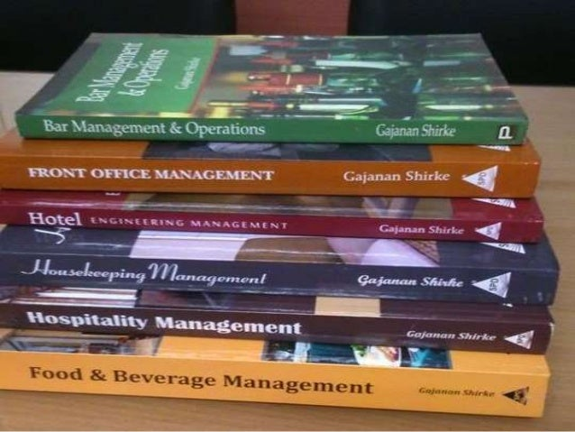 Hotel Management Books