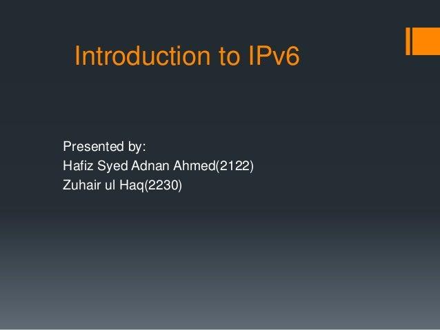 Why we need ipv6...