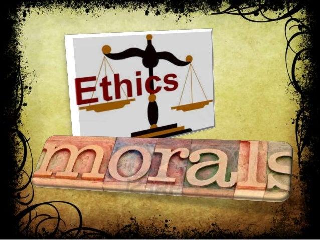 moral & ethics