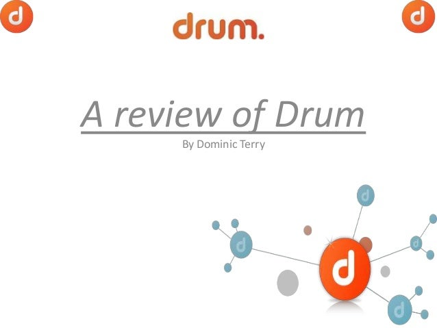 A review of Drum By Dominic Terry