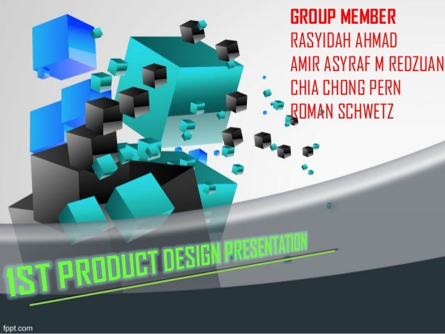 Product Design Proposal and Ideas Presentation