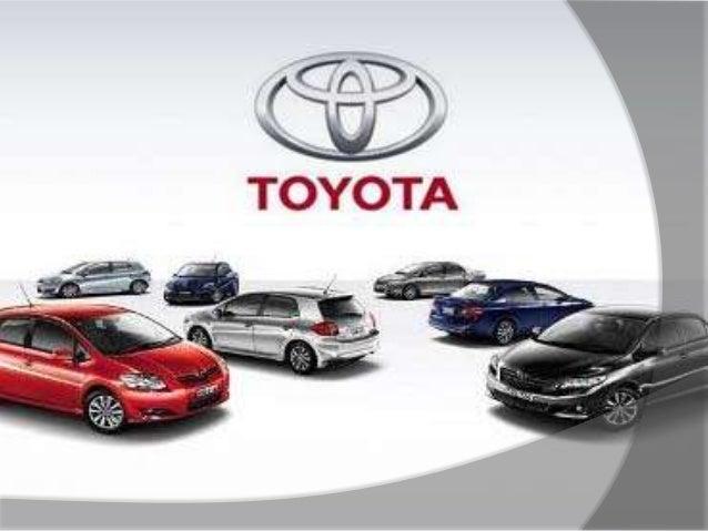 Ppt Presentation On Toyota