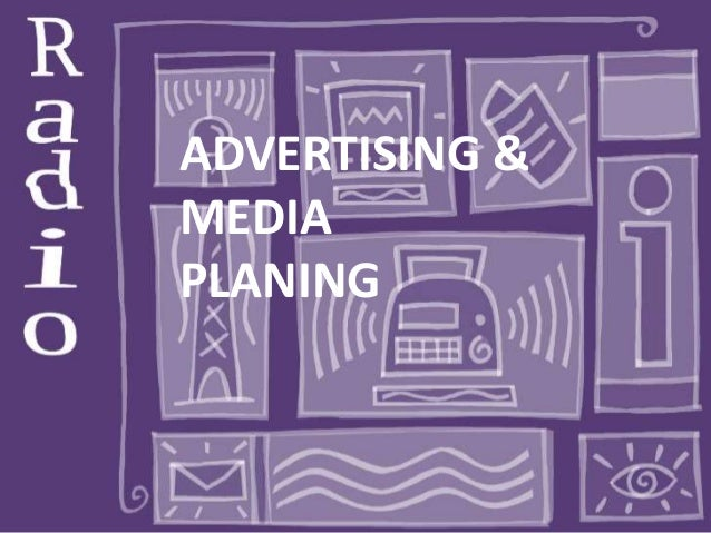 Advertising & Media Plannong on different Radio Stations