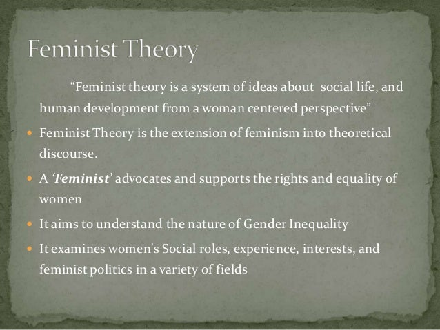 understanding the real idea of feminism