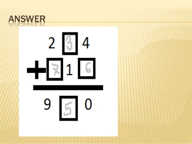 Homework help math reasoning