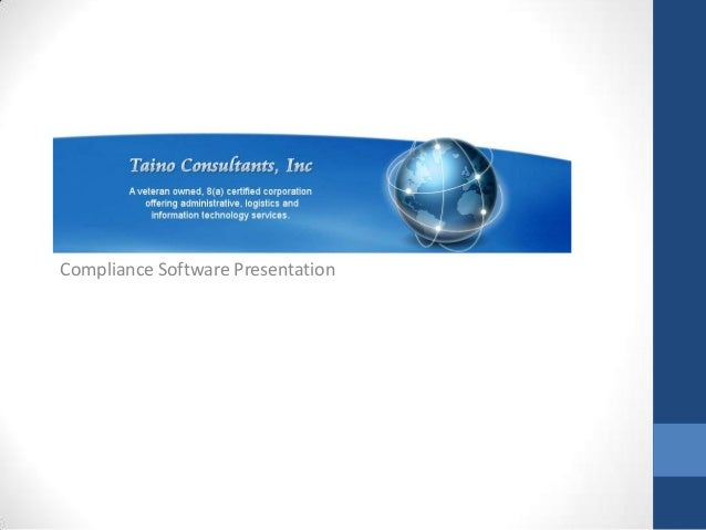 Compliance Software Presentation