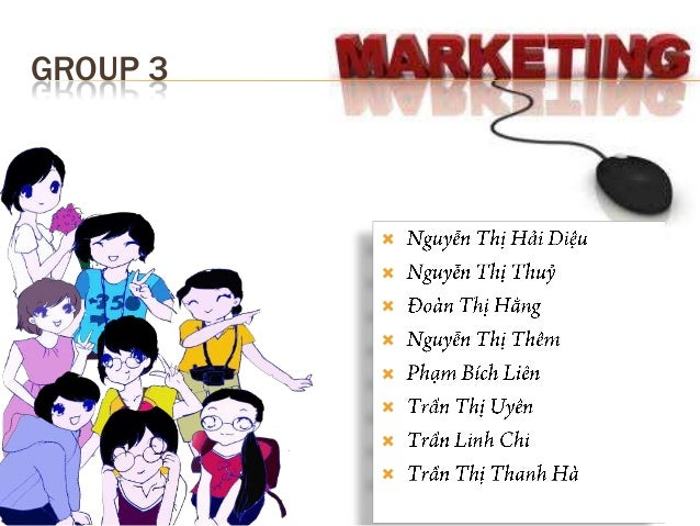Social media marketing - English presentation