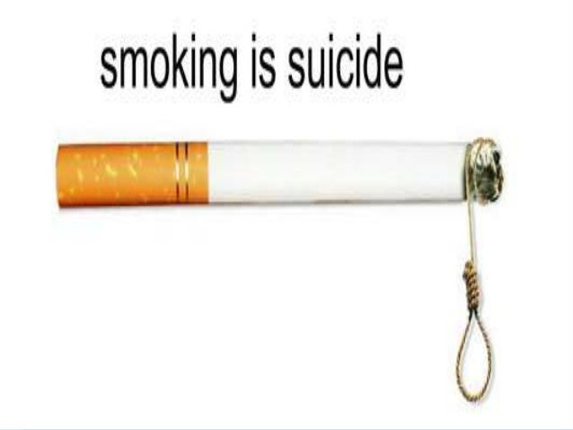 is smoking suicide Smoking is not only bad for physical health, it may also be bad for mental health, a new study suggests smoking cigarettes could increase the risk of developing psychiatric disorders, and may even be linked with suicide, the research shows in the study, researchers looked at the correlation.