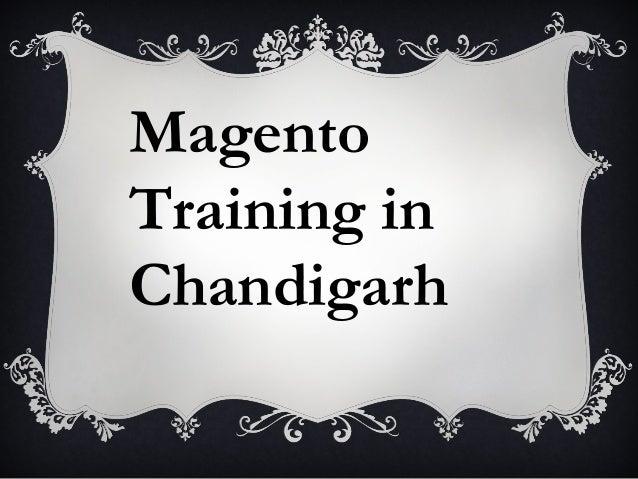 Magento Training in Chandigarh