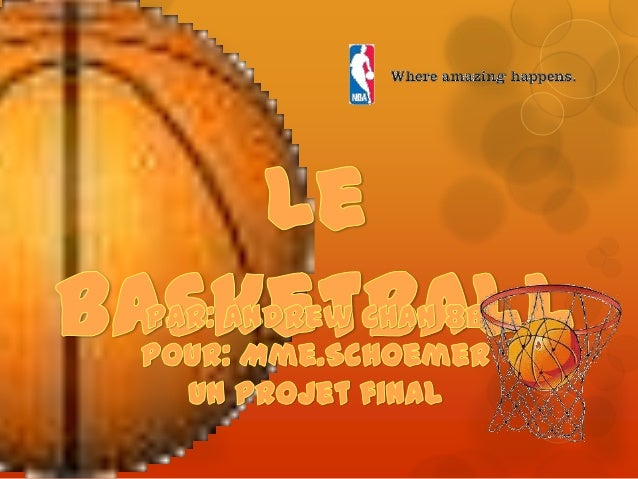  Le Basketball est un sport sain et a beacoup de bienfaits comme l'amelioration ton l'endurance cardiaque, la coordinatio...