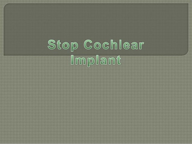 Hearing Aids  Cochlear Implants Systems