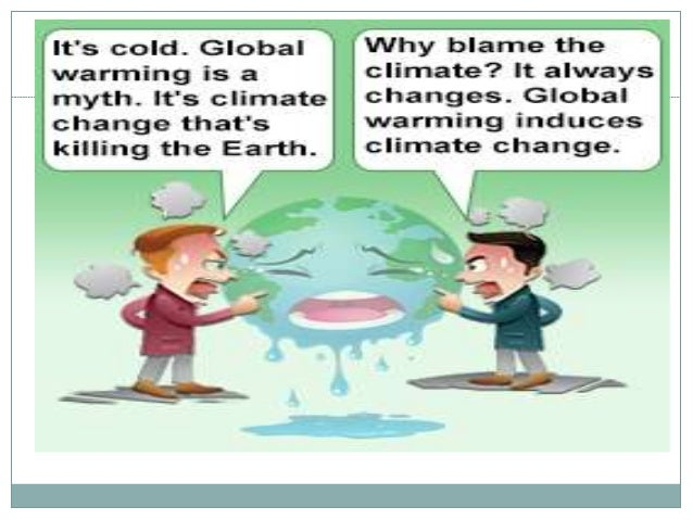 What are some arguments and counter arguments about global warming?