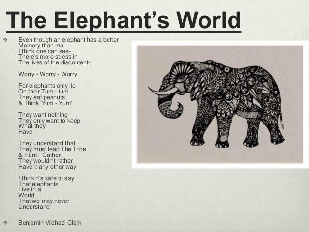 write about elephant