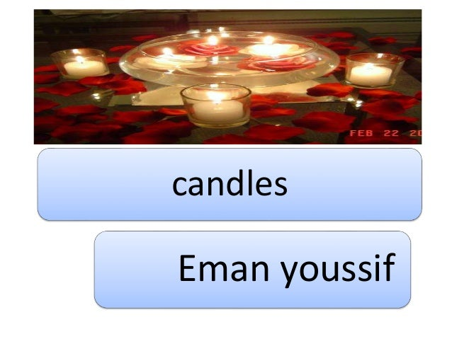 candles manfacture