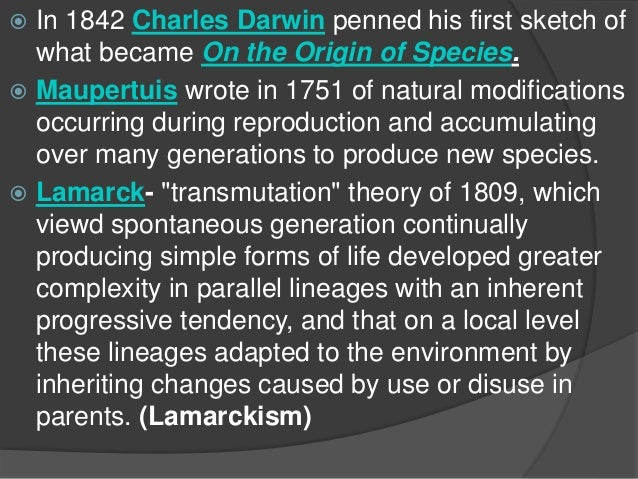the weaknesses of the evolutionary theory presented by charles darwin in on the origin of species by Darwin was unable to present his paper—the funeral for his youngest son took place on the same day as the meeting 1859: charles darwin publishes on the origin of species, putting forward his theory of evolution by natural origin of species statue of charles darwin in the natural history.