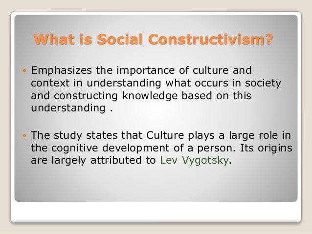social constructivism discussion We argued that the links between social constructivism and kt have not been fully explored but that the kta framework has constructivist underpinnings that help the discussion on how the theory can be used in the broader kt enterprise moving forward.