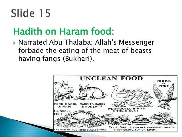 Islamic dietary laws