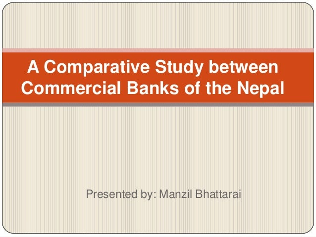 comparative study of commercial banks of Financial reporting practices in commercial banks in india - a  comparative study mrigya tewari research scholar.
