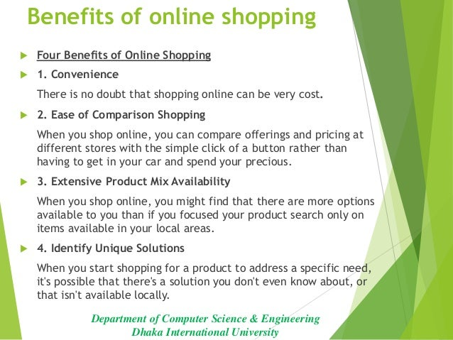 Essay online to buy shopping save time