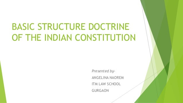 Indian Constitution Structure of The Indian Constitution