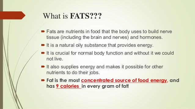 Presentation on fats and oils from NEPAL