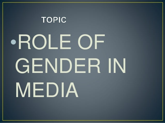 how socially constructed gender norms as perpetrated by the media influence the modern society However, male or female gender-specific identities are irrelevant in modern, civilized society gender roles are social constructs developed over time and are not based on natural human behavior this is because gender roles evolved as a way to organize the necessary tasks done in early human society.