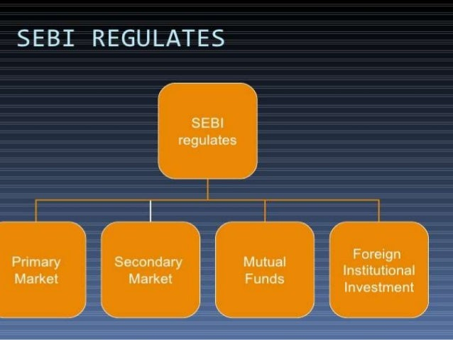what is role of sebi in stock market