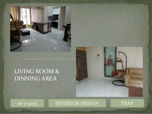 Interior design detailing for Living room kandivali east