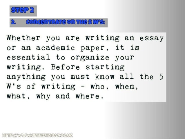 Tips to writing a great essay?