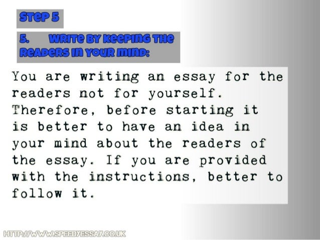 compare writing an essay to going to the dentist