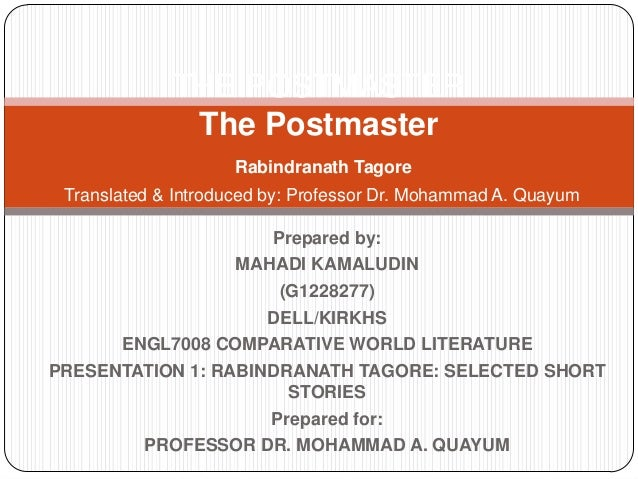 Presentation 1 the postmaster