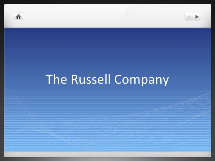 The Russell Company Projects