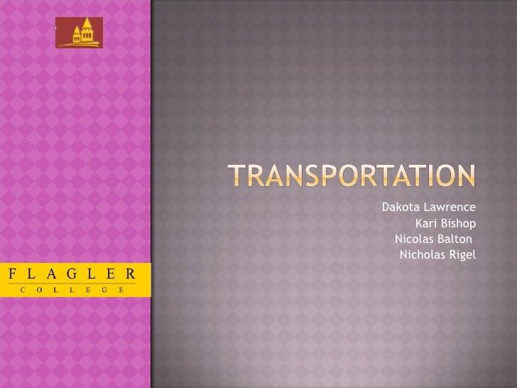 Nic Frame - Transportation Group Presentation (1)