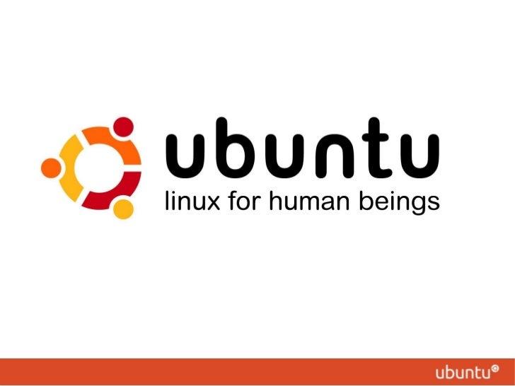 What is Ubuntu - presentation