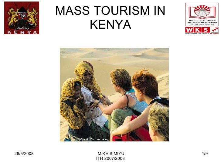 MASS TOURISM IN KENYA