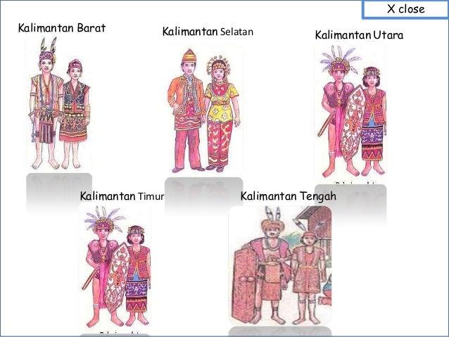 Gambar Dan Nama Baju Adat Tradisional Daerah Suku Di 33