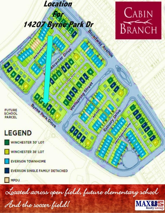Cabin branch clarksburg maryland new homes the manhattan for Cabin branch clarksburg md