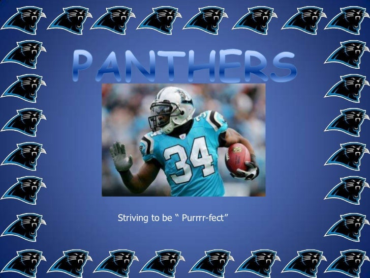 "PANTHERS<br />Striving to be "" Purrrr-fect""<br />"