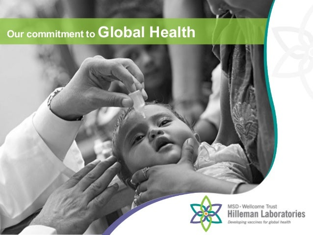 Our commitment to Global Health