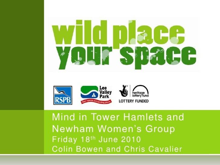 Wild Place Your Space Presentation 18.06.10