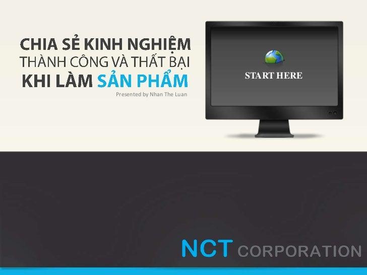 CEO Nhaccuatui.com - Kinh nghiệm thành côg & thất bại