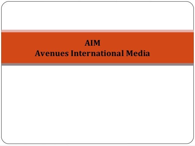 AIMAvenues International Media