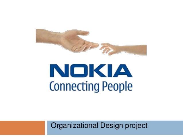 Nokia Oraganizational Design